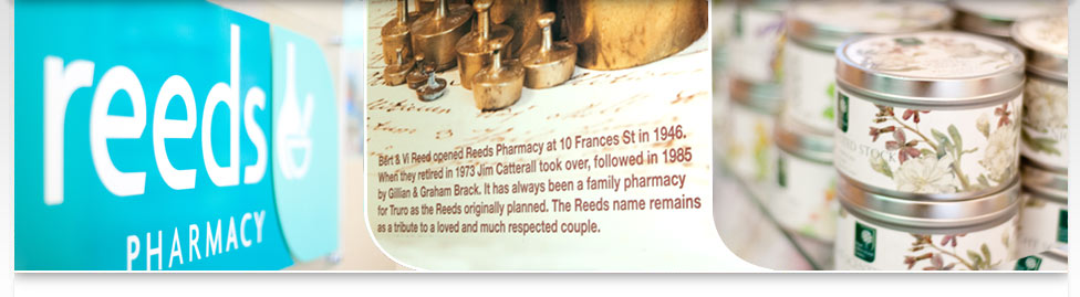 the history of reeds pharmacy